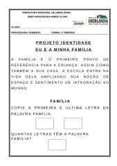 IDENTIDADE - PALAVRA E CONTAGEM FAMÍLIA.doc
