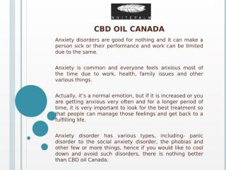 CBD oil Canada.pptx