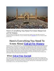 Here's Everything You Need To Know About Eid-ul-Fitr History.pdf