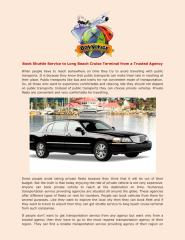 Book Shuttle Service to Long Beach Cruise Terminal from a Trusted Agency.pdf