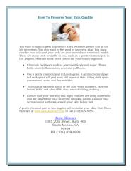 How_To_Preserve_Your_Skin_Quality (1).PDF