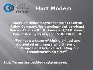 Modem for HART- Smartembeddedsystems.com- HART modem- HART devices Solution- HART STACK for controls.pptx