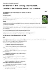 The-Secrets-To-Herb-Growing-Free-Download.pdf