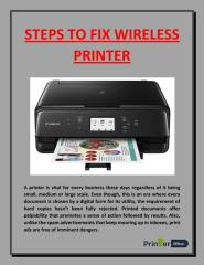 STEPS TO FIX WIRELESS PRINTER.pdf