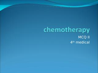Chemotherapy_MCQ_VIP.ppt