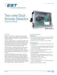 85001-0585 -- Two-Wire SuperDuct Duct Smoke Detector.pdf