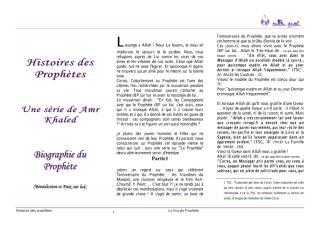 mus_histoire_des_prophetes Amr Khaled.pdf