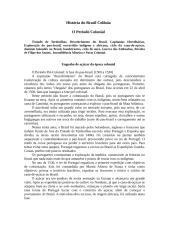 Resumo - História do Brasil Colônia.doc
